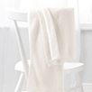 Pointelle Cashmere Blanket  - Winter White