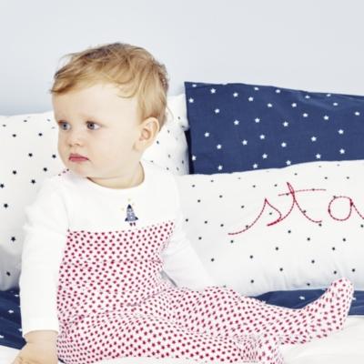 Blast Off Baby Sleepsuit