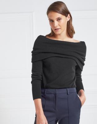Bardot Neckline Sweater