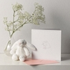 Bunny Gift Card - White