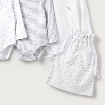 Bodysuit Baby Gift Set - Set of 3