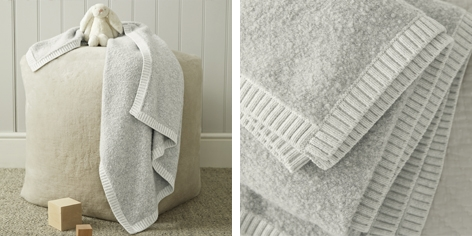 Boucle Baby Blanket
