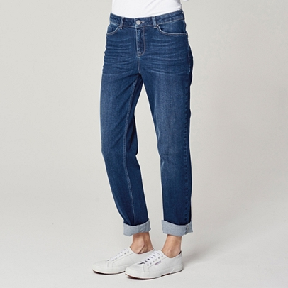 Brompton Boyfriend Jeans - Indigo | Jeans | Clothing | The White ...