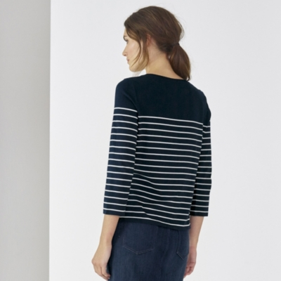 Breton Placed Stripe T-shirt