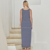 Breton Stripe Maxi Dress