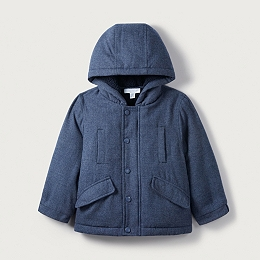 Brushed Twill Coat (1-6yrs)
