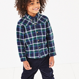 Brushed Flannel Shirt (1-6yrs)