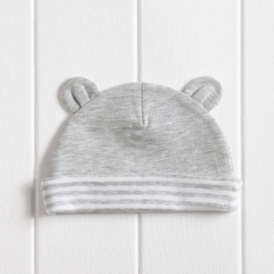 Unisex Bear Ears Baby Hat