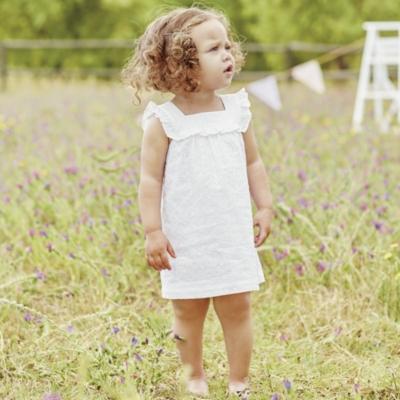 Broderie Ruffle Dress (0-24 mnths)