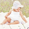 Broidery Smocked Bubble - White