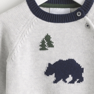 Bear In The Woods Sweater