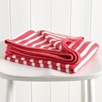 Breton Stripe Baby Blanket - Pink