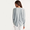 Back Split Batwing Sweater