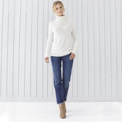 Beaded Snowflake Sweater