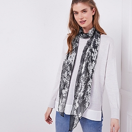 Silk Blossom Scarf