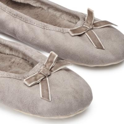Ballet Slippers - Mink