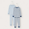 Snug Fit Boys' Stripe Pajamas 2 Pack