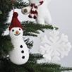 Felt Beaded Snowflake Decoration
