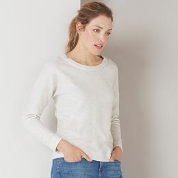 Brushed Twill Sweatshirt