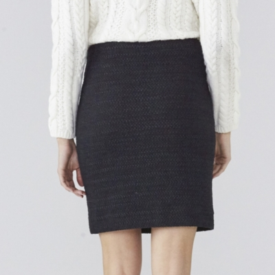 Boucle Stretch Skirt