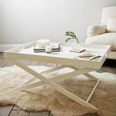 White. View Full Size Image. Butleru0027s Coffee Table ...