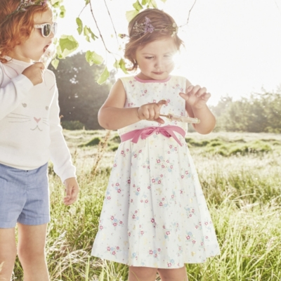 Butterfly Floral Dress (1-5yrs)