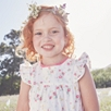 Butterfly Floral Top  (1-5yrs)