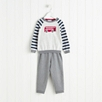 Bus Sweater and Jersey Pants Set (2-6yrs)
