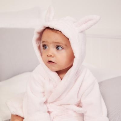 Hydrocotton Baby Robe - Pink