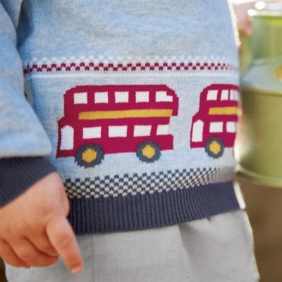 Bus Fair Isle Sweater