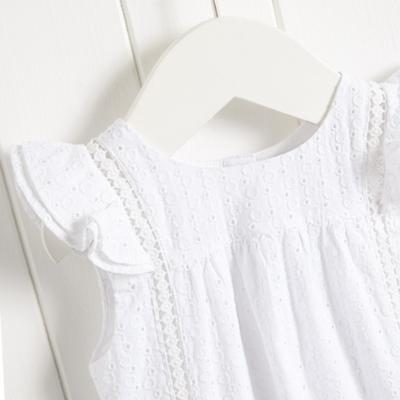 Lace Bubble - White
