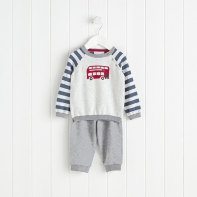 Bus Sweater and Jersey Pants Set