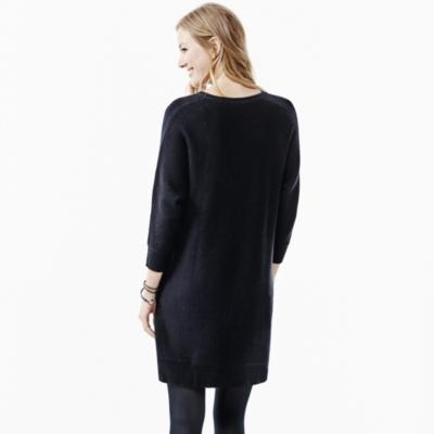 Batwing Side Zip Dress