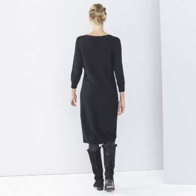 Batwing Knitted Dress