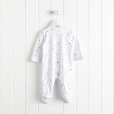 """""""Ballet Wrap Footed Sleepsuit"""""""