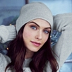 Essential Cashmere Hat - Pale Gray Marl