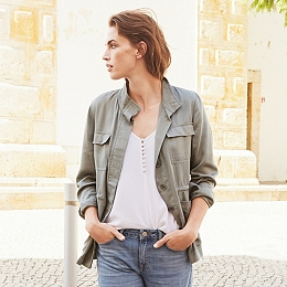Casual Tencel Jacket