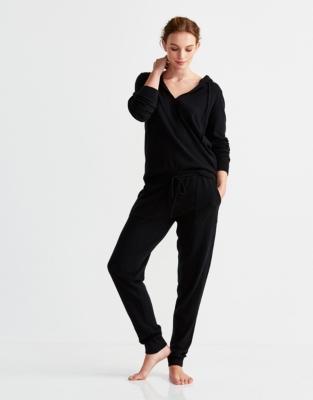 Cotton-Cashmere Knit Hoodie
