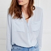 Casual Pocket Blouse