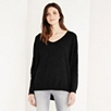 Cashmere Pointelle Detail Sweater