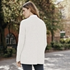 Cashmere Chunky V-Neck Sweater - Porcelain