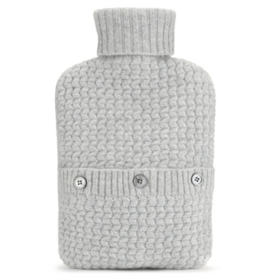 Cashmere Hot Water Bottle and Cover