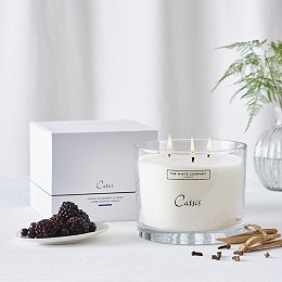 Cassis  Large Candle