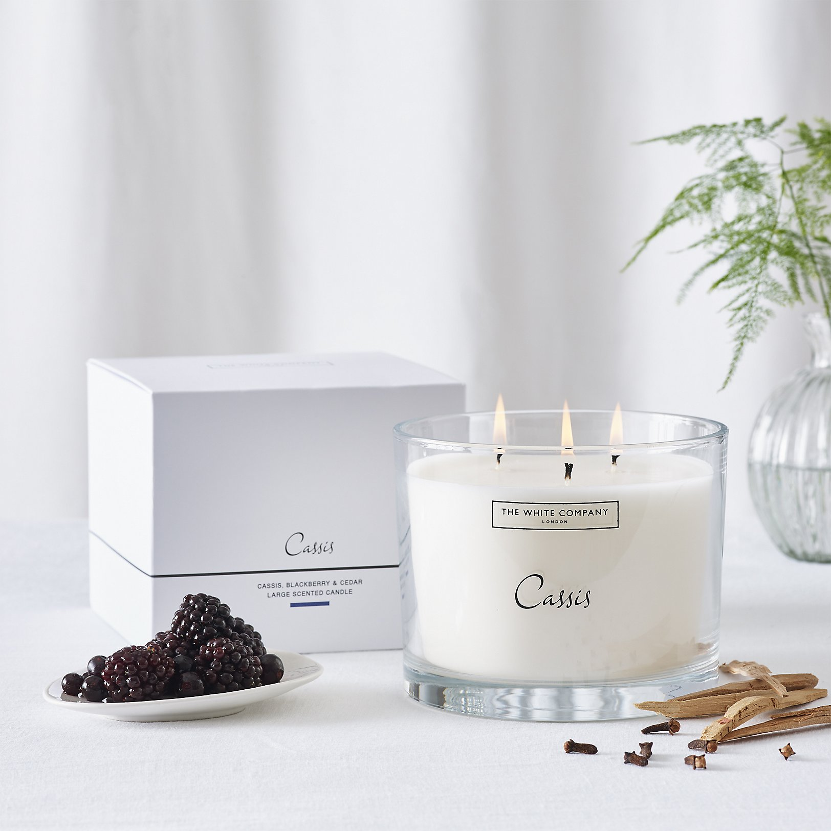 Multi Wick Candles Candles Scented Pillar Votive The White Company Uk