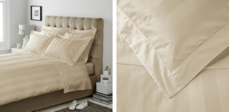 Cadogan Bed Linen Collection - Stone