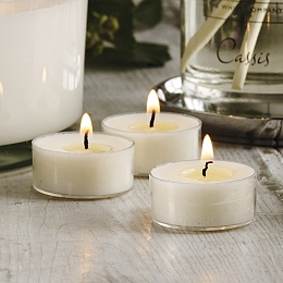 Cassis Acryclic Tealights set of 12