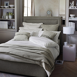 Cavendish Bed - Light Grey
