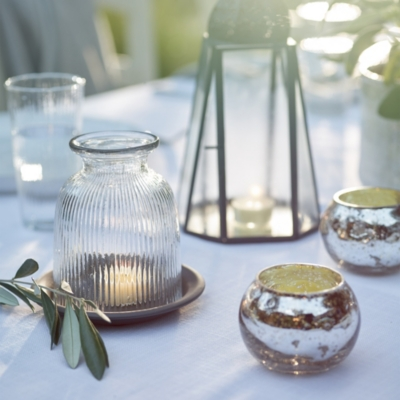 Chunky Bubbled Small Tealight Holder