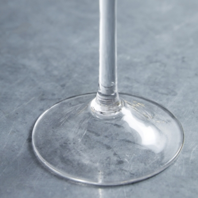 Glass Tall Dinner Candle Holder