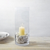Glass Hurricane Vase